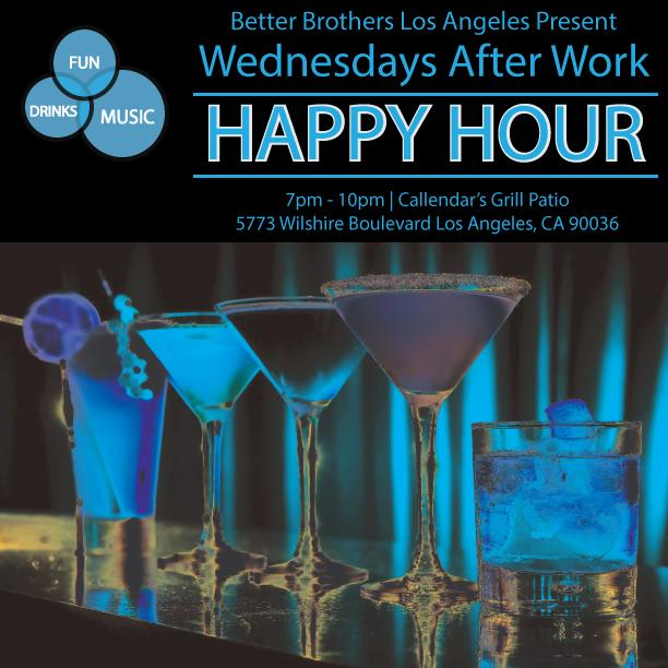 Wednesday's After Work | Happy Hour and Mixer | 4/12