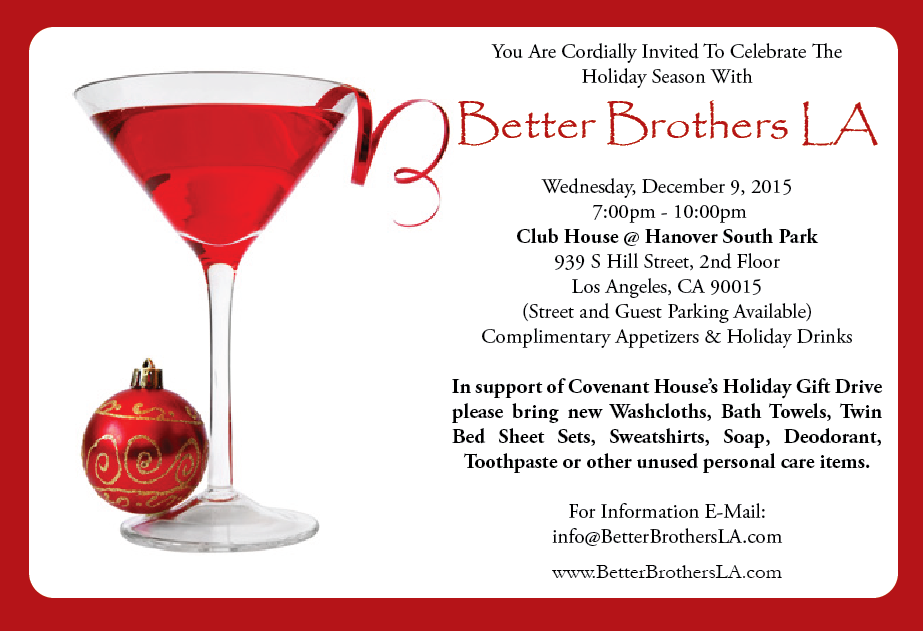 Better Brothers LA Holiday Mixer - 12/9