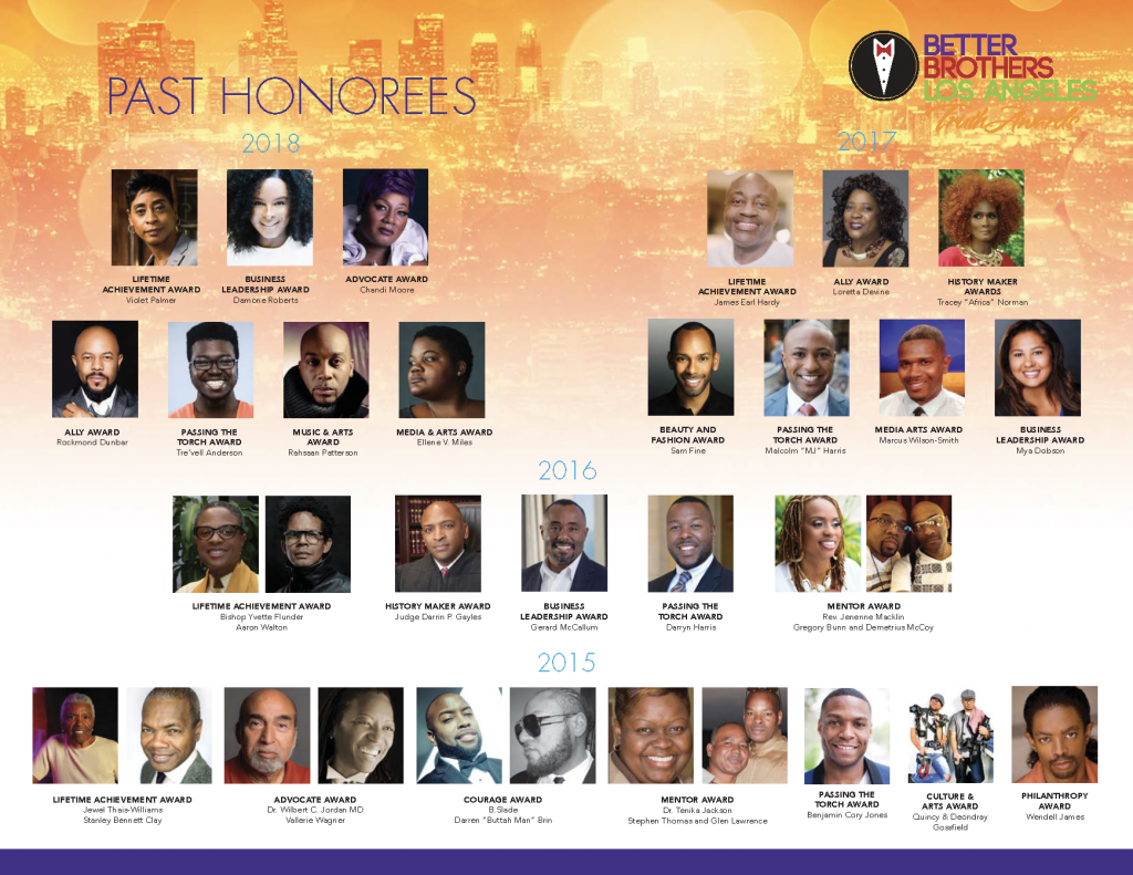 Truth Awards Past Honorees